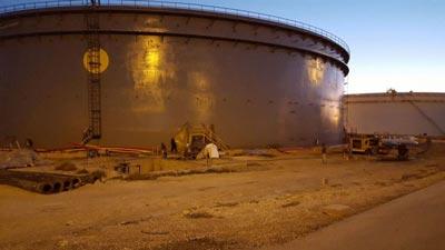 پروژه های مخازن شرکت نفت توسط شرکت ساحل پرتو آذز