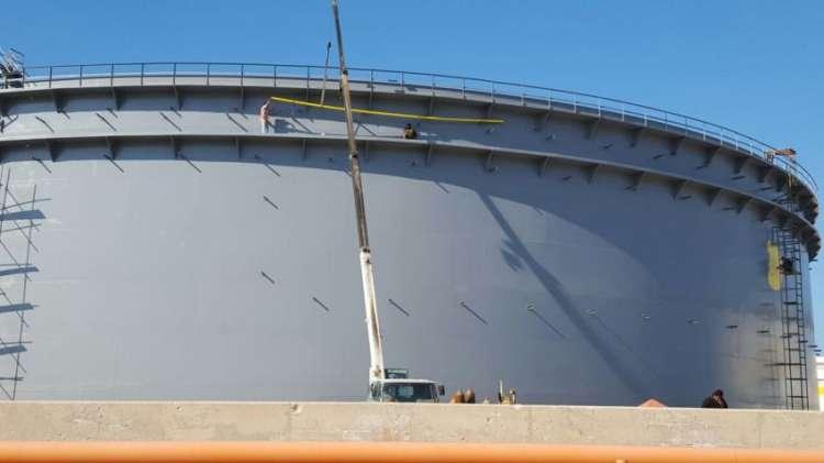 پروژه مخزن نفتی پایانه ها 1