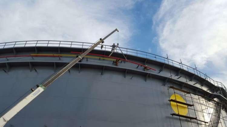 پروژه مخزن نفتی پایانه ها 2